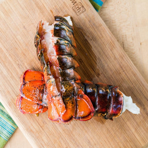 (8) 14-16oz Giant Gourmet Cold Water Lobster Tails