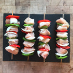 All Natural Chicken Breast Kebobs