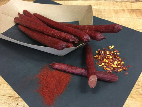 Habanero Hot Butcher Beef Sticks