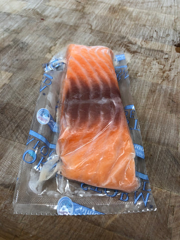 Frozen Norwegian Salmon Filets