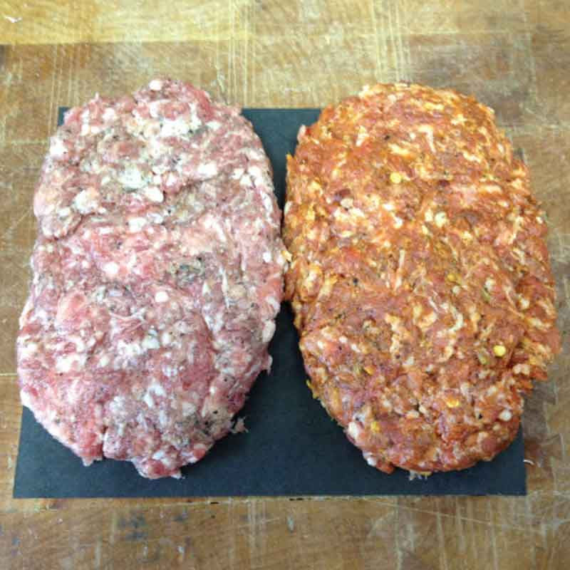 Italian Sausage Patties