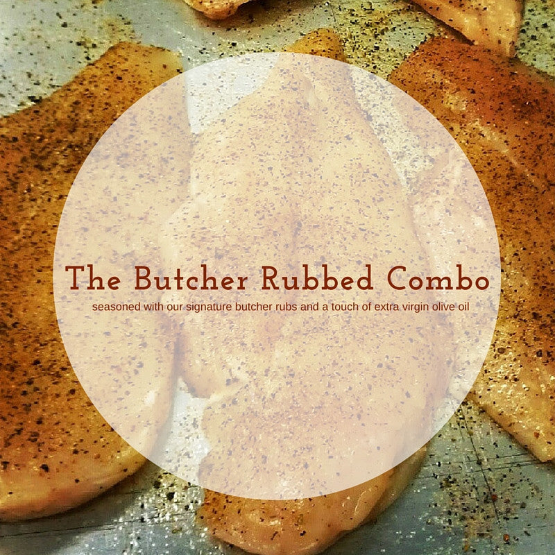 The Butcher Rubbed Combo