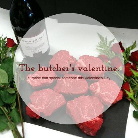 Butcher's Valentine Box