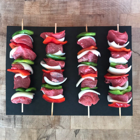 Catullo's Prime Steak Kebobs