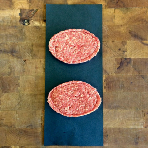 6oz Butcher Burgers