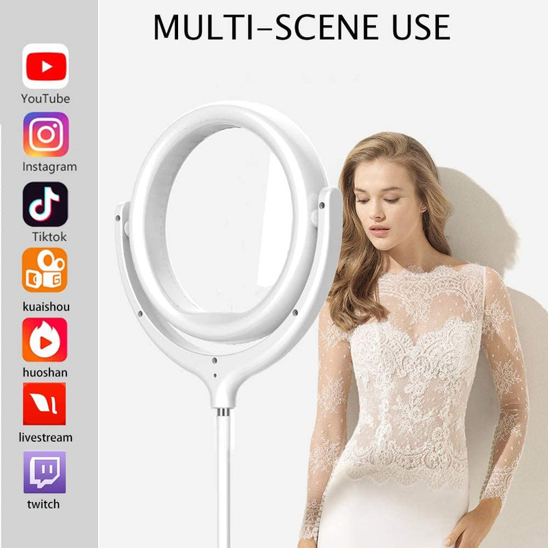 12 Inch LED Ringlight with Stand-2