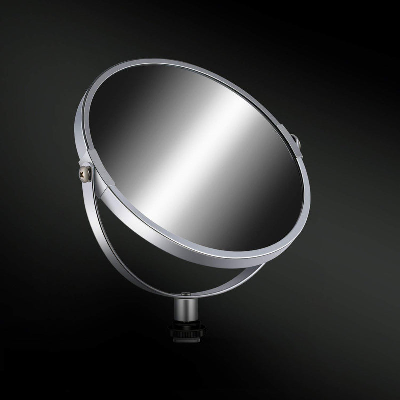 DOUBLE-SIDED SELFIE MAGNIFIED CIRCULAR MAKEUP MIRROR