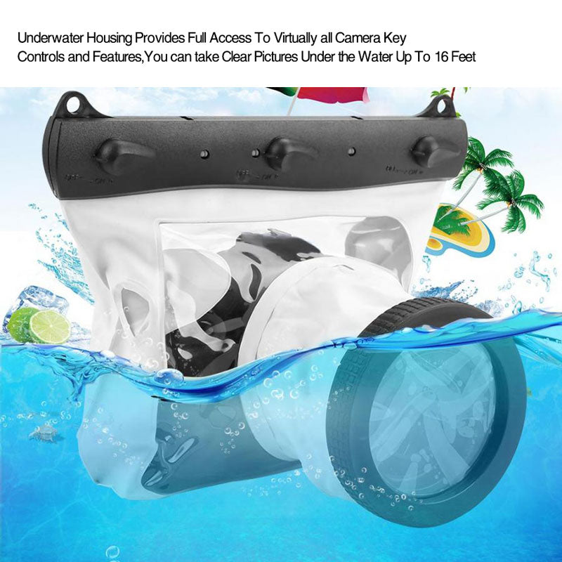 Digital SLR Camera Professional Underwater Case