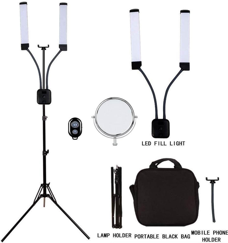 YO-GOGO double-arm step-less dimming professional fill light