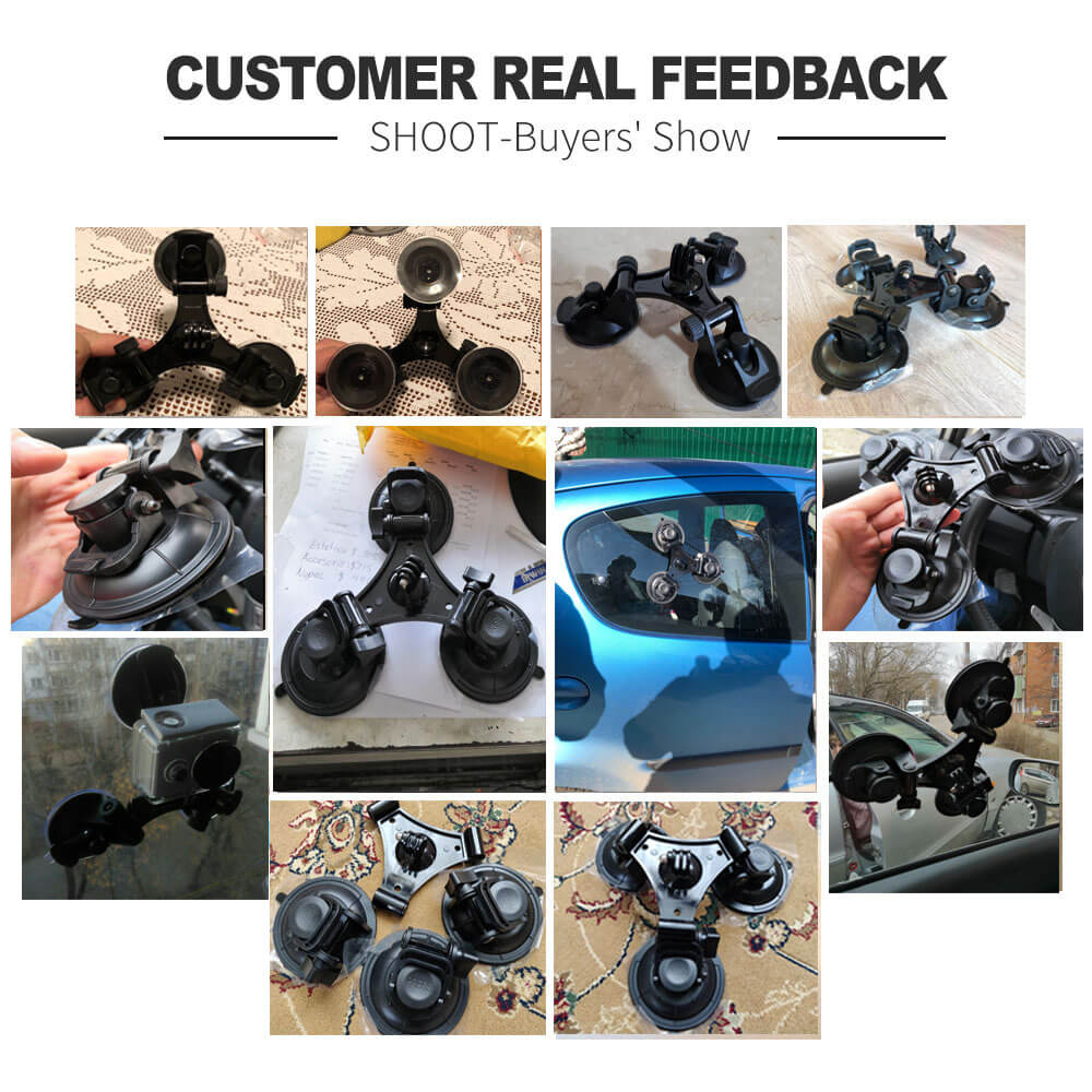 THREE-LEG SUCTION CUP STABILIZATION BRACKET