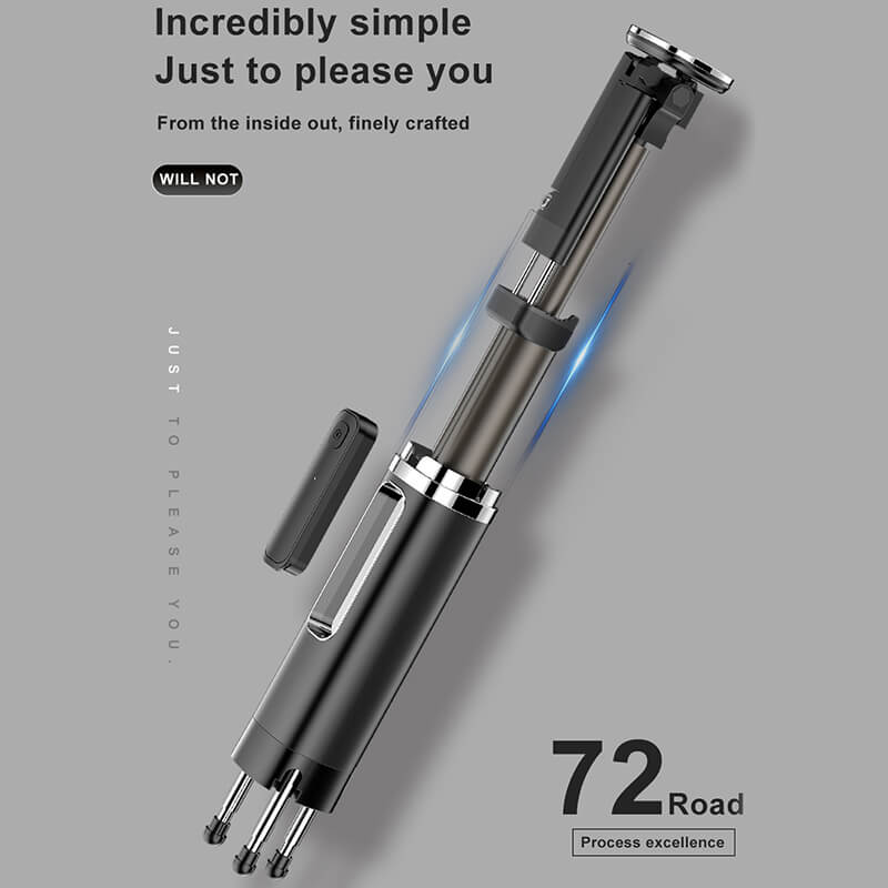 3 in 1 Wireless Bluetooth Selfie Stick-4
