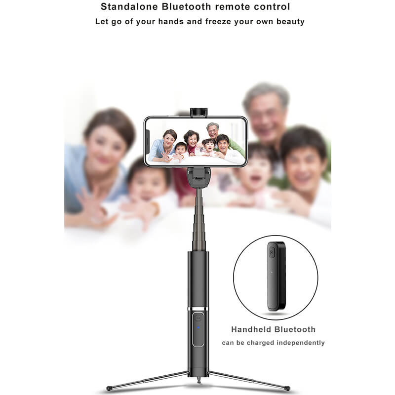 3 in 1 Wireless Bluetooth Selfie Stick-7