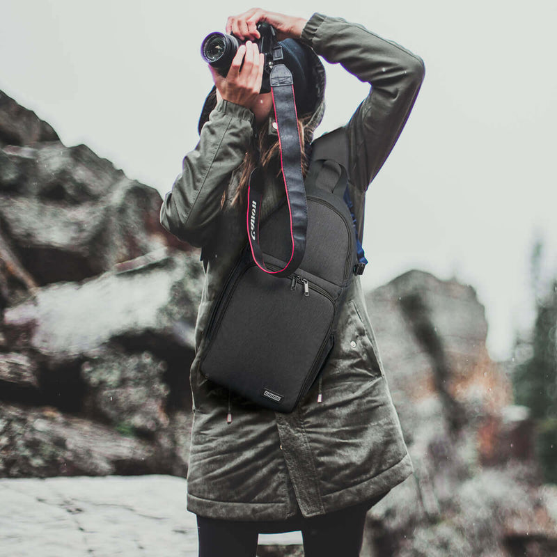 Multi-functional Outdoor Camera Photo Bag