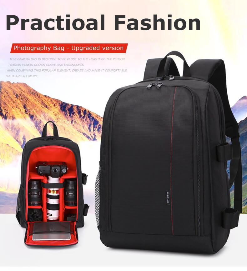 Professional Waterproof Little DSLR Camera Backpack