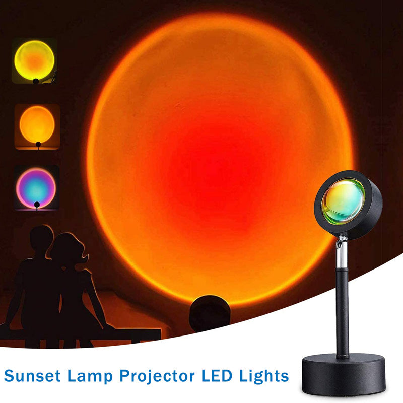 Sunset Lamp Projector LED Lights