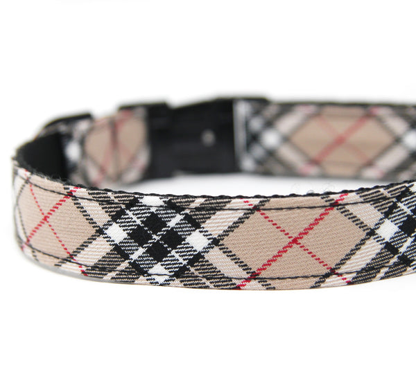 Black and Tan Tartan