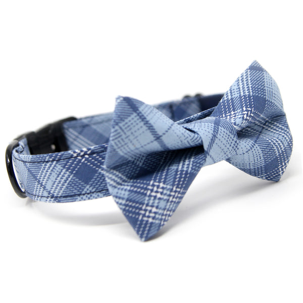 Sky Blue plaid Bowtie