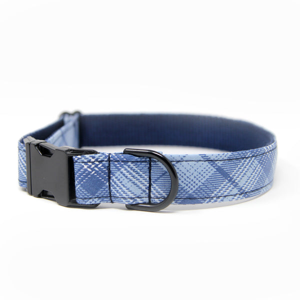 RTS -Sky Blue Plaid Collar