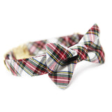 Red Green Plaid Bowtie-Westwood