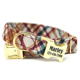 Fall Plaid Dog Collar | The Ranger