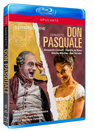 Donizetti: Don Pasquale Blu-ray (Glyndebourne)