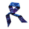 Madama Butterfly Ribbon Scarf Purple/Blue