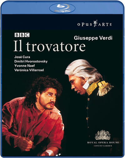 Verdi: Il trovatore Blu-ray (The Royal Opera)