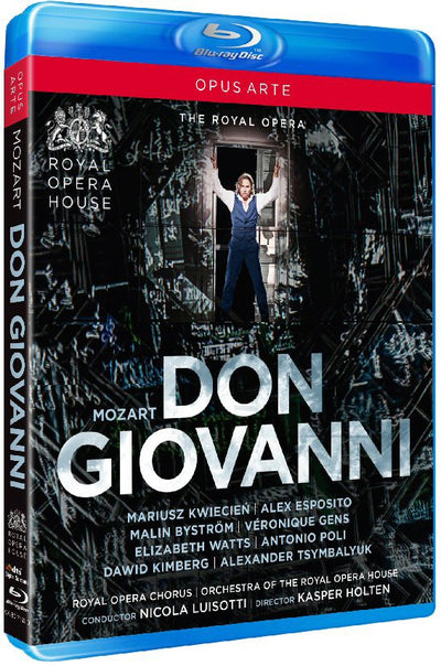 Mozart: Don Giovanni Blu-ray Disc (The Royal Opera) 2014