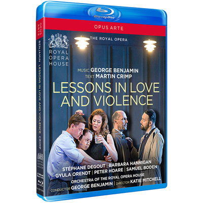 Benjamin: Lessons in Love and Violence Blu-ray (The Royal Opera)