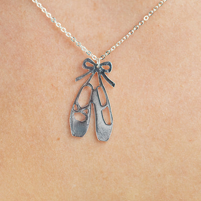 Ballet Shoe Necklace