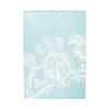 Blue Souvenir Tea Towel