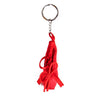Red Ballet Shoe Keyring