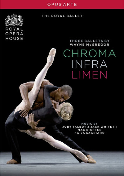 McGregor: Chroma / Infra / Limen DVD (The Royal Ballet)