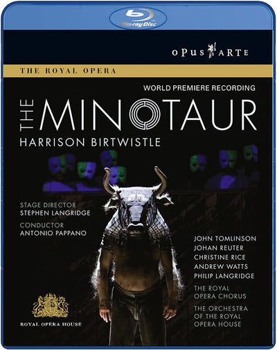 Birtwistle: Minotaur Blu-ray Disc (The Royal Opera)