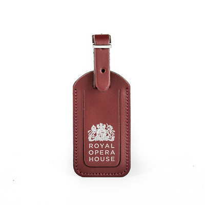 Luggage Tag Oxblood