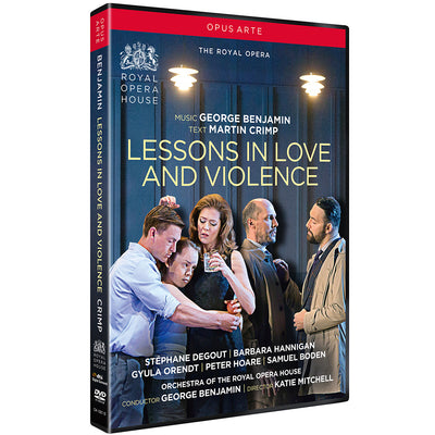 Benjamin: Lessons in Love and Violence DVD (The Royal Opera)