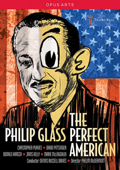 Glass: The Perfect American DVD (Teatro Real Madrid)