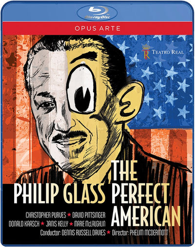 Glass: The Perfect American Blu-ray (Teatro Real Madrid)
