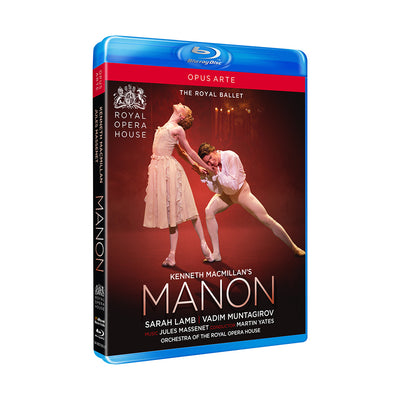 Manon Blu-ray (The Royal Ballet) 2018