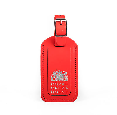 Luggage Tag Red