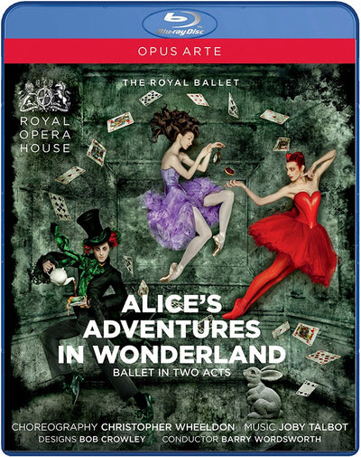 Alice's Adventures in Wonderland Blu-ray Disc (The Royal Ballet)