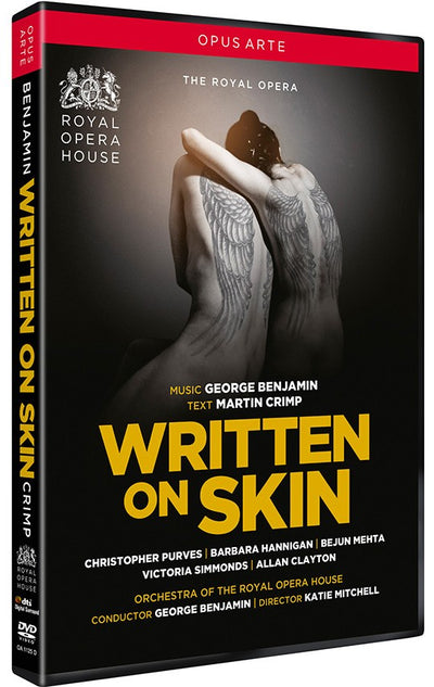 Benjamin: Written on Skin DVD (The Royal Opera)