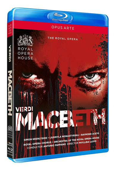 Verdi: Macbeth Blu-ray (The Royal Opera)