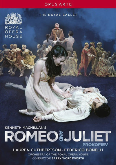 Romeo and Juliet DVD (The Royal Ballet) 2012