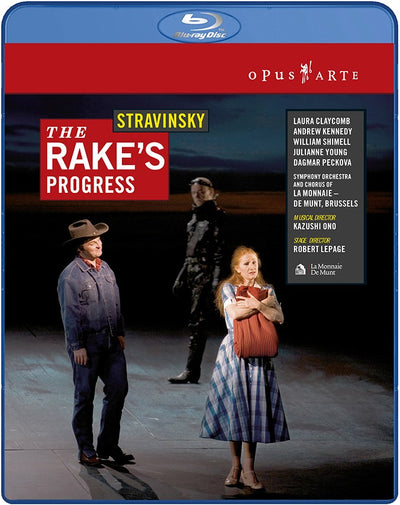 Stravinsky: The Rake's Progress Blu-ray (La Monnaie-De Munt)