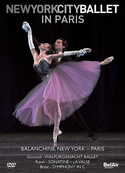 NYC Ballet in Paris DVD