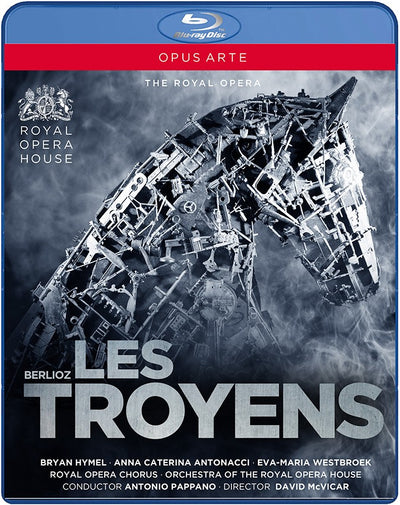 Berlioz: Les Troyens Blu-ray (The Royal Opera)