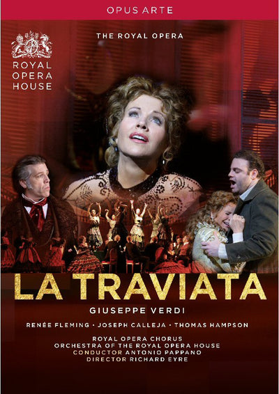Verdi: La Traviata DVD (The Royal Opera) 2009