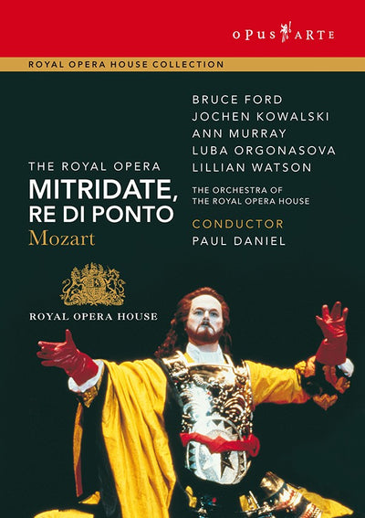 Mozart: Mitridate, re di Ponto DVD (The Royal Opera)
