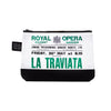La Traviata Cosmetic Bag